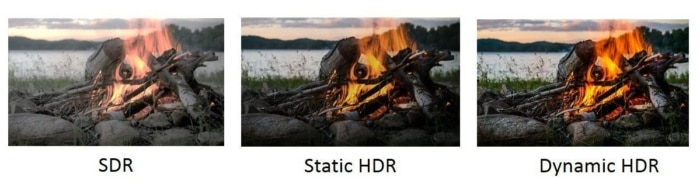 sdr vs dynamic hdr