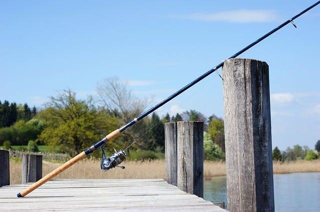 long fishing rod