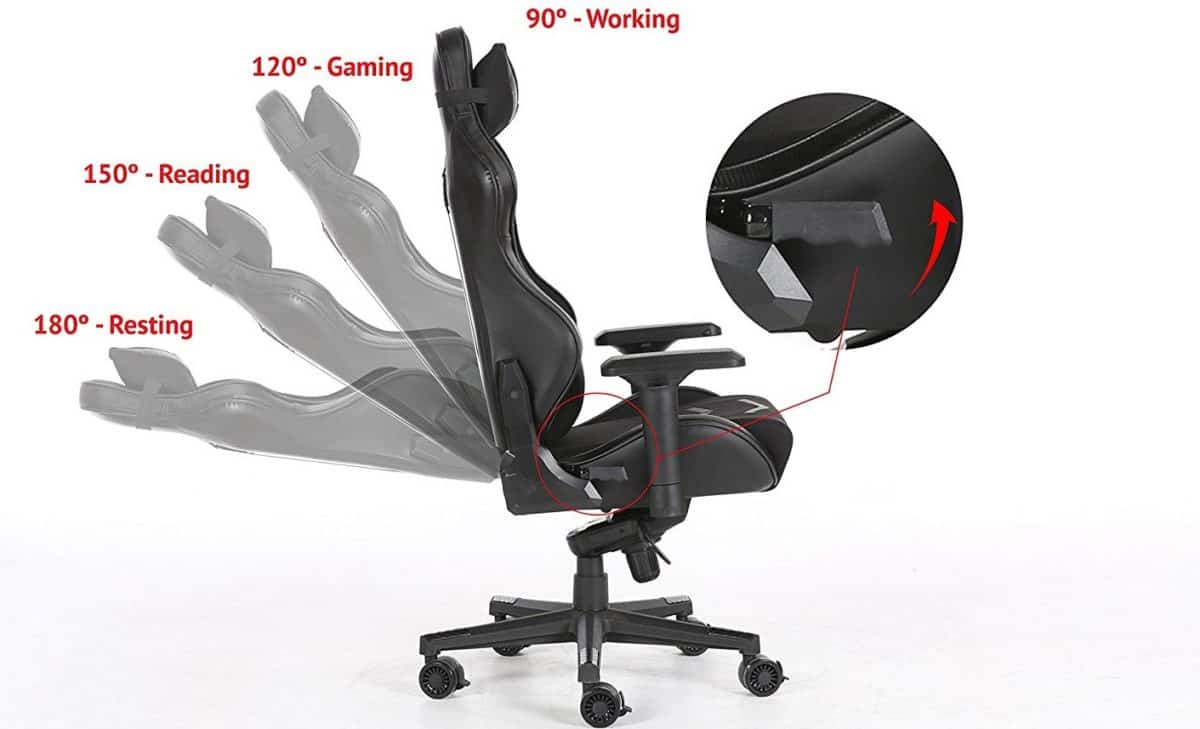 Terrific 8 Best Gaming Chairs In 2019 Reviews Buyers Guide Machost Co Dining Chair Design Ideas Machostcouk