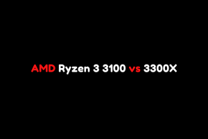 AMD Ryzen 3 3100 vs 3300X - Beats Intel Core i7-7700K? 1